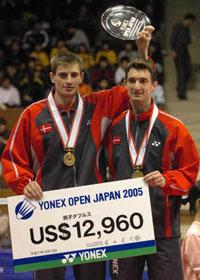羽毛球新闻 2005年日本羽毛球公开赛 YONEX羽毛球用品网...